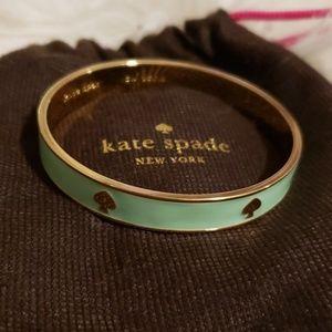 Kate Spade mint bangle